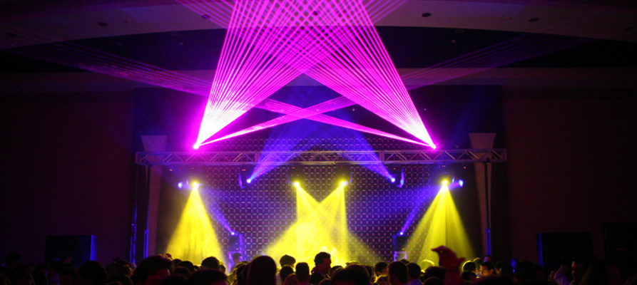 Boston Lasers Shows AT Boston College